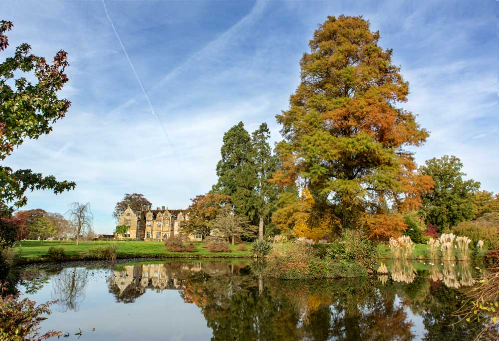 Wakehurst Place with Stately Home, Lake and Gardens
