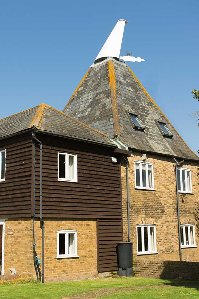Oast House Cowl Installed