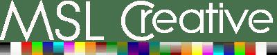 MSLCreative logo white